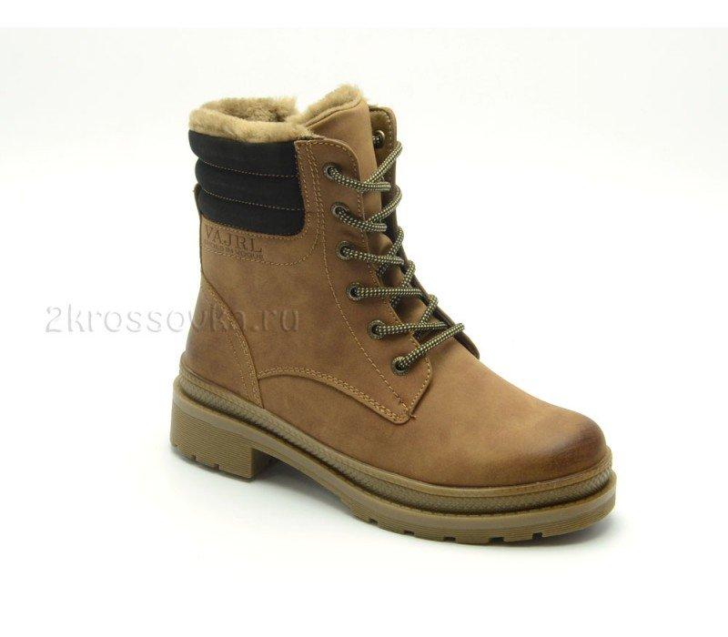 Купить Зимние женские ботинки Vajra арт. D701-2 в магазине 2Krossovka