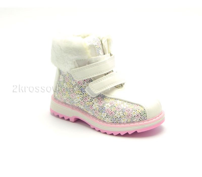 Купить Детские зимние ботинки Леопард арт. 111-5-5 в магазине 2Krossovka
