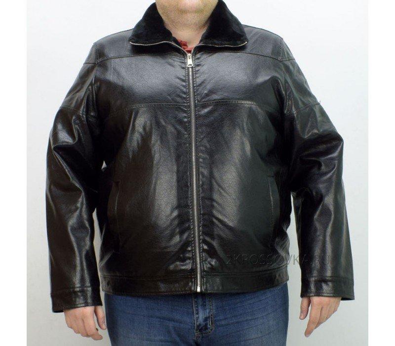 Купить Мужская кожаная куртка Habo 2112 в магазине 2Krossovka