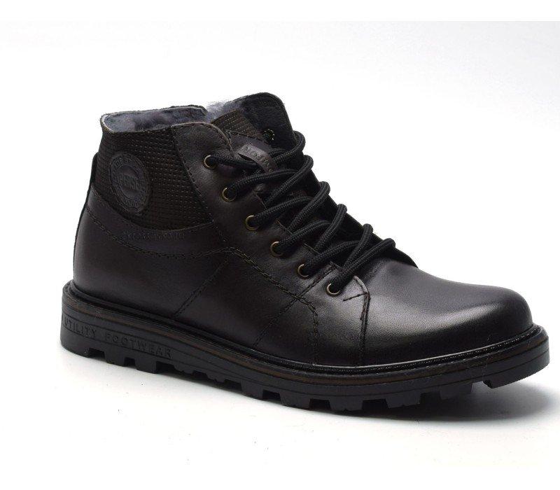 Купить Зимние ботинки Perse арт.111-001-2 в магазине 2Krossovka