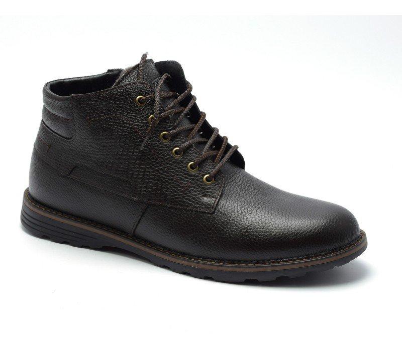 Купить Зимние ботинки больших размеров Falcon арт. 181-7 в магазине 2Krossovka