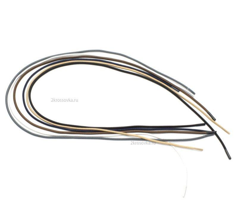 Купить Резиновые серые шнурки 60 см в магазине 2Krossovka