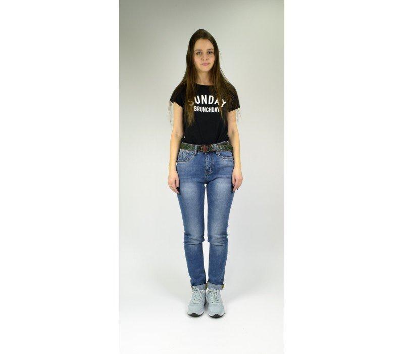 Купить Женские джинсы RO188 арт. RO-536 в магазине 2Krossovka