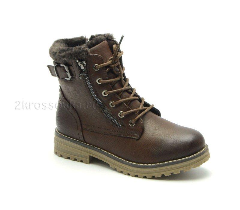 Купить Зимние ботинки Fei Jei с мехом арт. E172 в магазине 2Krossovka