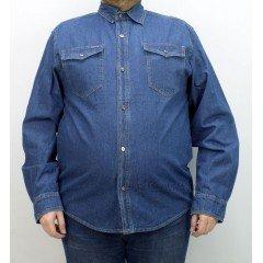 Джинсовая рубашка Vicucs 12X12-19