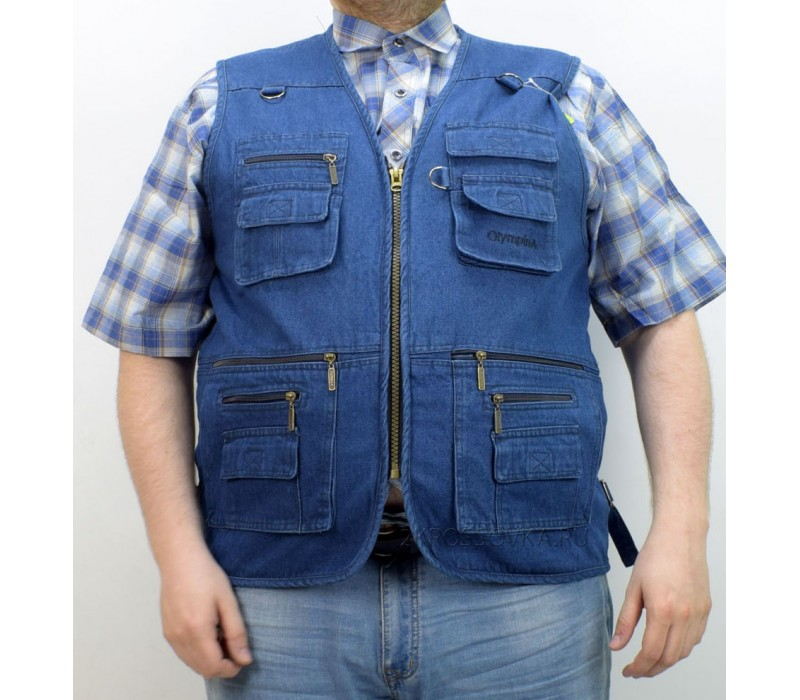 Купить Жилет джинсовый Olympina 2601-Z в магазине 2Krossovka