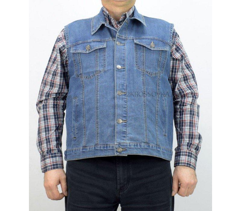 Купить Жилет джинсовый VICUCS 207-10-2 в магазине 2Krossovka