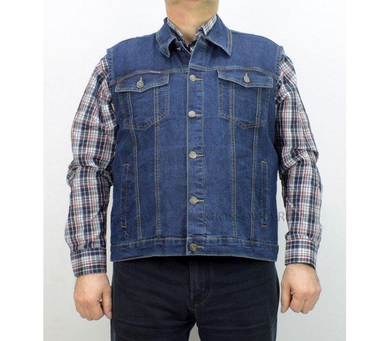 Купить Жилет джинсовый VICUCS 207-8 в магазине 2Krossovka