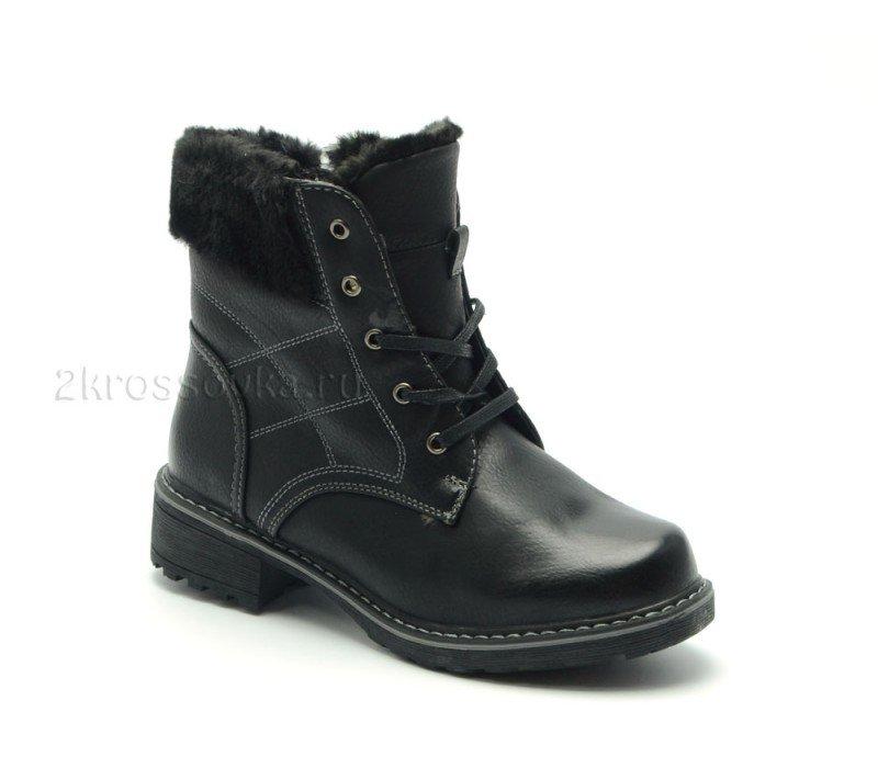 Купить Зимние ботинки TRIOshoes с мехом арт. H855-1 в магазине 2Krossovka