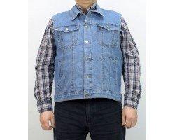 Жилет джинсовый VICUCS 207-10-1