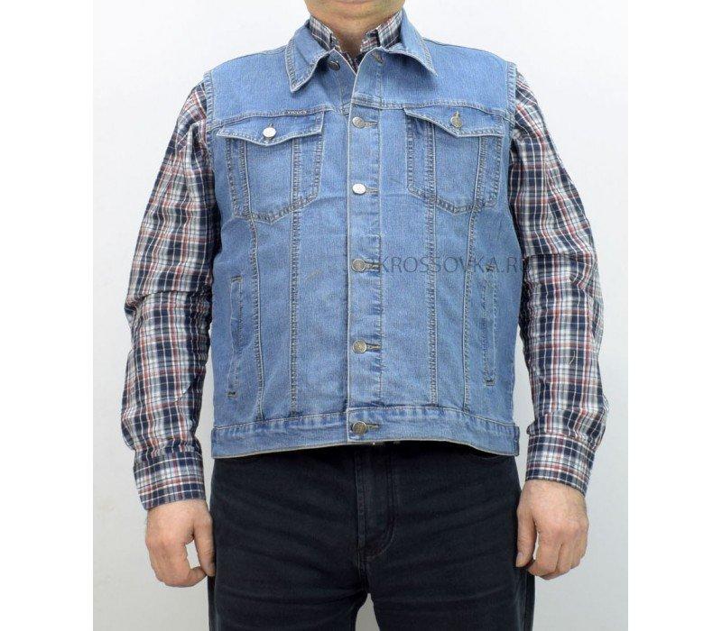 Купить Жилет джинсовый VICUCS 207-10-1 в магазине 2Krossovka