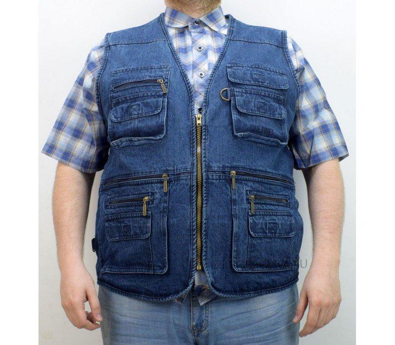 Купить Жилет джинсовый Ouliwei 645-4 в магазине 2Krossovka